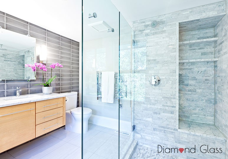 Calgary-residential-glass-bathroom-remodel
